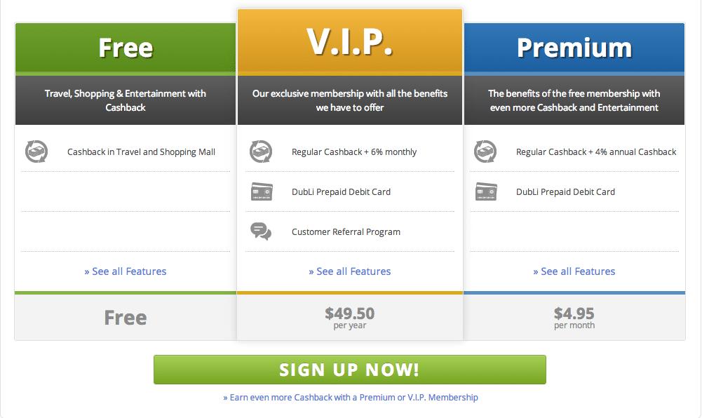 DubLi-Customer-Membership
