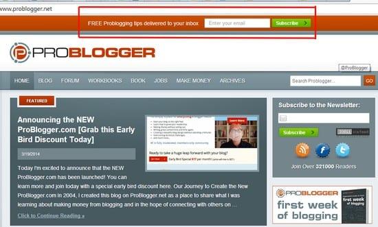 bar problogger