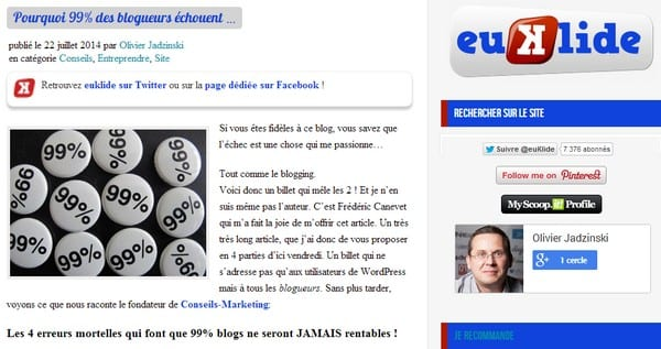 blog euklide