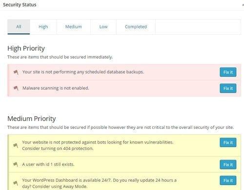itheme securite plugins