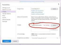 Comment ajouter un compte email pour son blog à Yahoo email ? 5