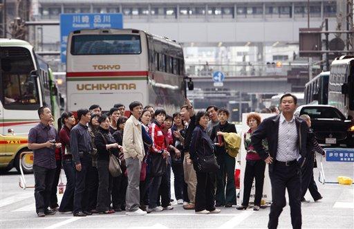 Japan China Tourist Boom
