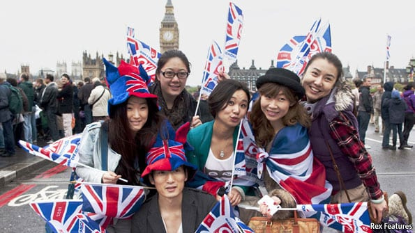 chinese in England