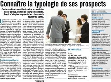 article prospection