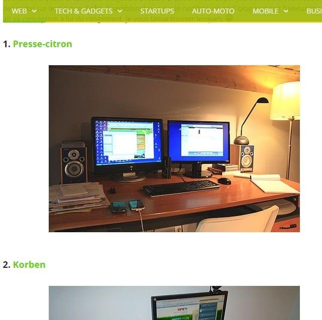 bureaux de blogueurs