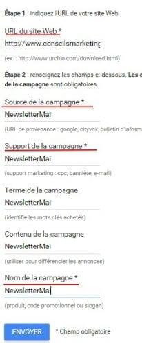 google url generator