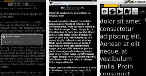 application prompteur ipad