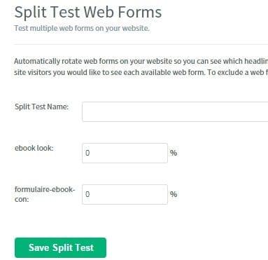 choix split test