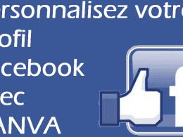 Personnalisez votre profil Facebook en 2 minutes avec CANVA.com ! 12