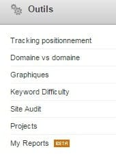 tracking positionnement