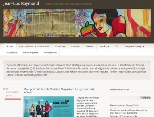 blog jean luc raymond