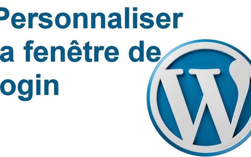 Comment personnaliser la fenêtre de connexion de Wordpress ? 5