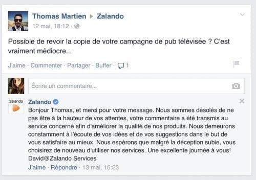 zalando facebook