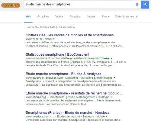 etude smartphones