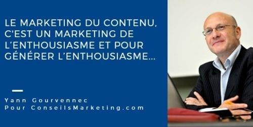 le marketing du contenu