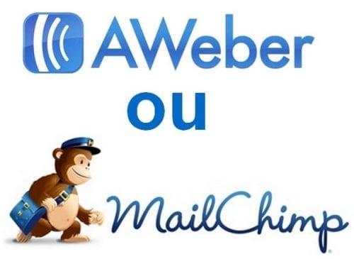 mailchimp ou aweber