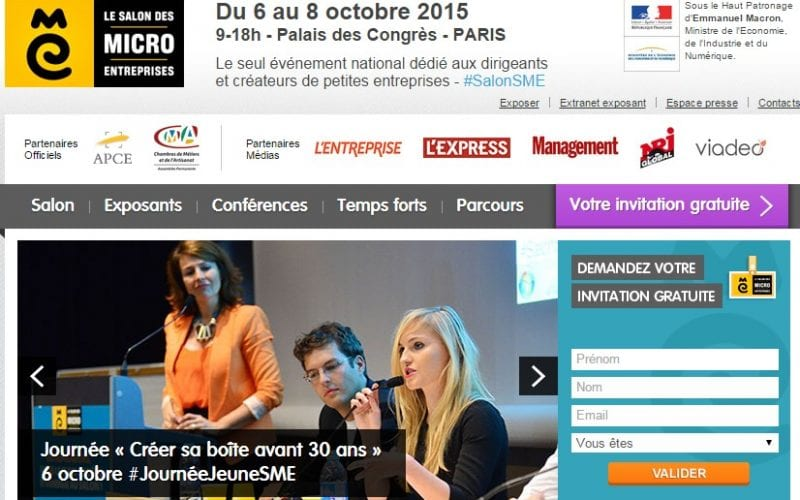 RDV du 6 au 8 Octobre au Salon des Micro Entreprises à Paris ! 5