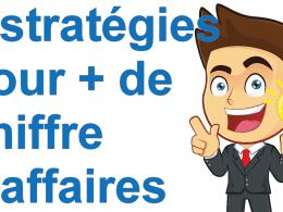 Marketing minute : 6 stratégies pour développer facilement son chiffre d'affaires 30