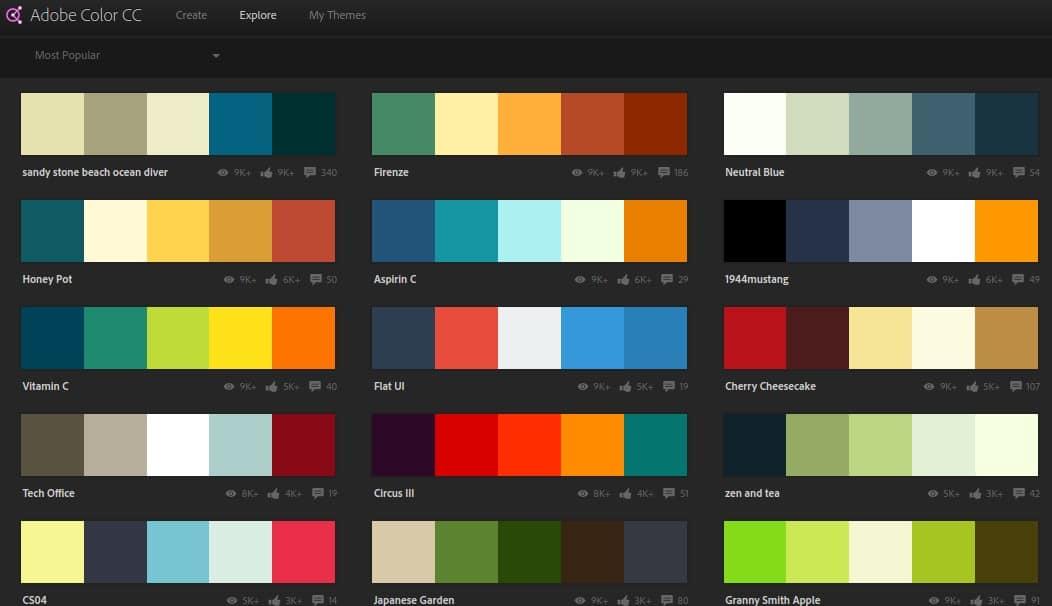choix de couleurs pour logo