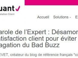 Il vaut mieux désamorcer l'insatisfaction client que de gérer un Bad Buzz ! 9