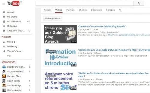 youtube et ecommerce