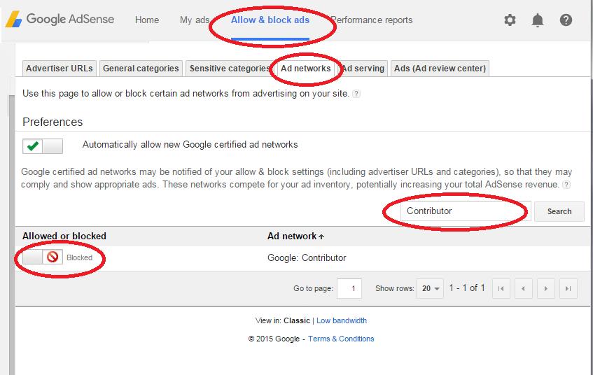 GoogleContributorOptOut