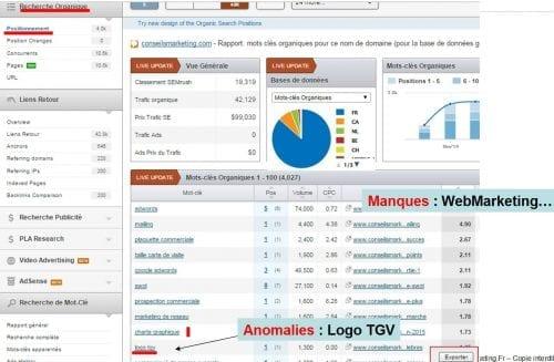 analyse de site internet seo