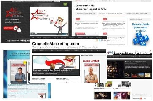 design de sites internet