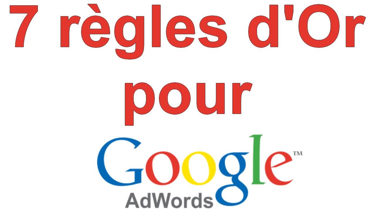 Marketing Minute : 7 règles d'or pour optimiser vos campagnes de Google Adwords 1