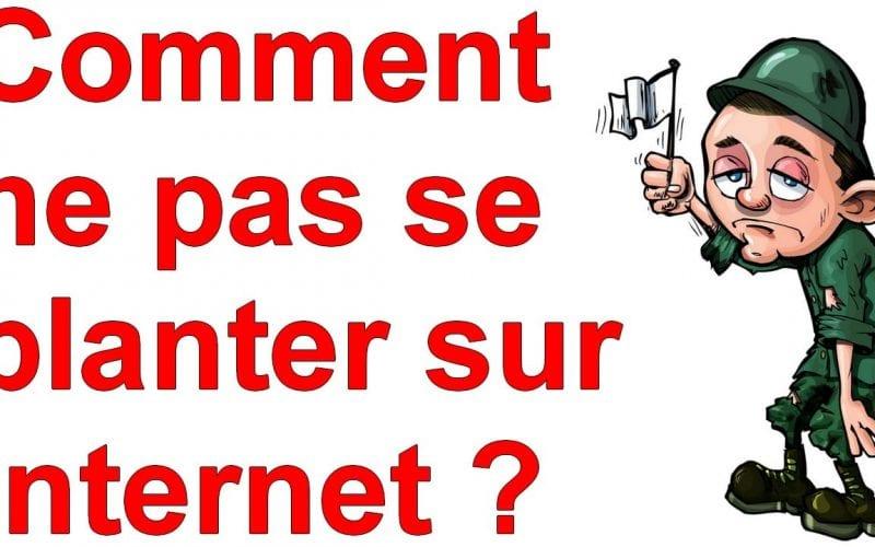 Marketing Minute : Comment ne pas se planter sur Internet ? 4