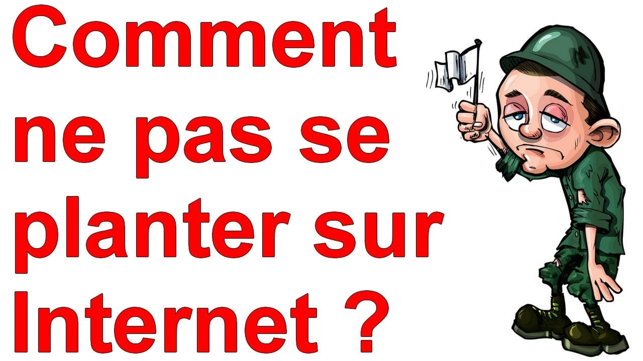 Marketing Minute : Comment ne pas se planter sur Internet ? 6