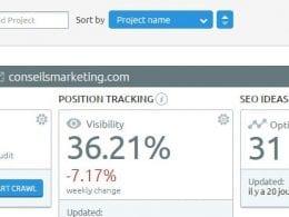 SEO Ideas, Landing Pages et Email Analytics, trois nouveaux outils dans SEMrush ! 47