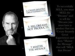 Vous devez vendre du rêve et de l'émotion pour vendre un produit ! 21