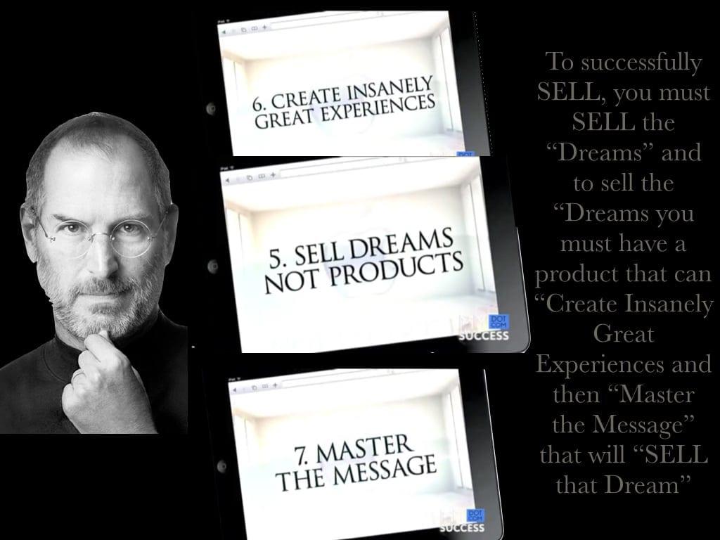 Vous devez vendre du rêve et de l'émotion pour vendre un produit ! 1
