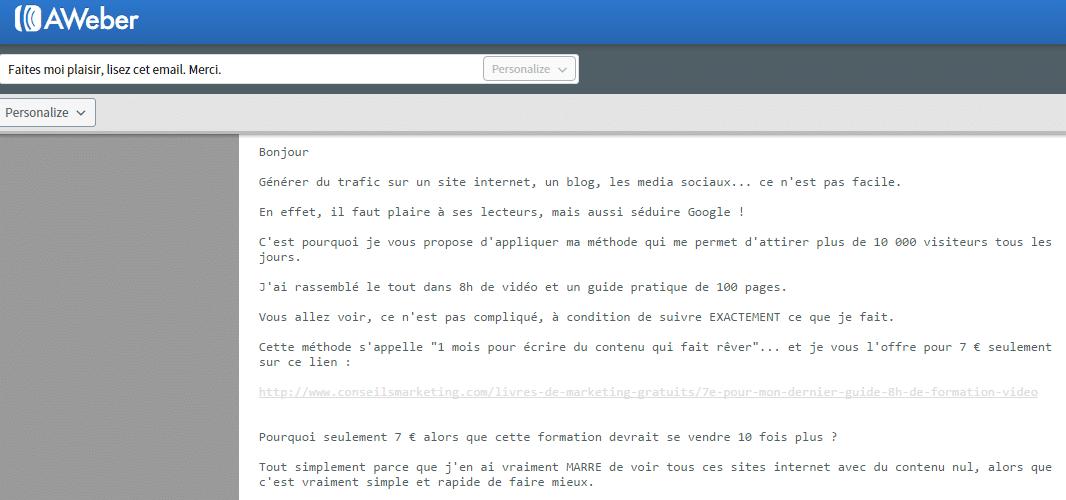 emotion email