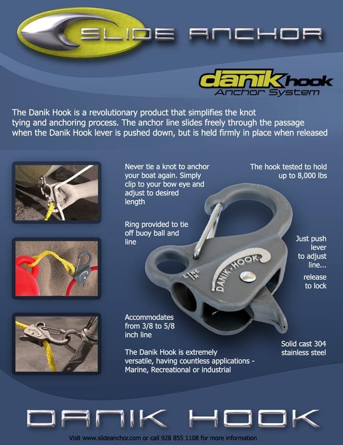 Danik Hook product spec sheet
