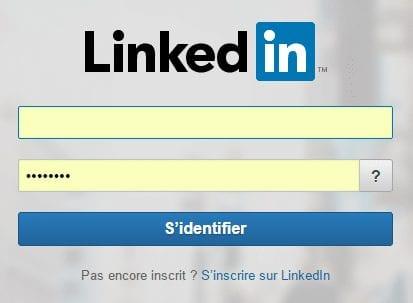 login linkedin ads
