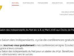 Participez au Salon des Indépendants du Net les 11 et 12 mars à Paris ! 8