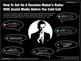 Votre Mini formation au Social Selling : 12 minutes pour vous lancer ! 2