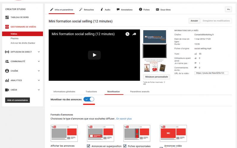 Les publicités de vos concurrent s'affichent sur vos vidéos Youtube ? 3