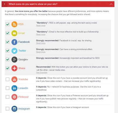 plugin sociaux