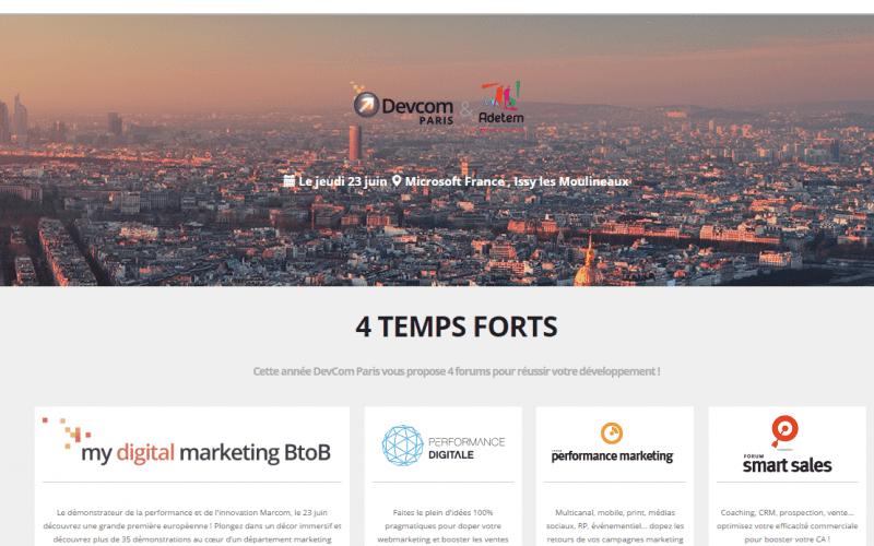 Demain c'est le DEVcom Paris : Assistez à plusieurs dizaines d'ateliers marketing & communication ! 4