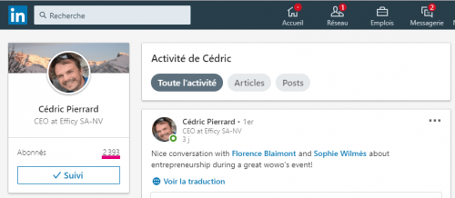 Comment connaitre le nombre exact de contacts d'un profil Linkedin ? 5