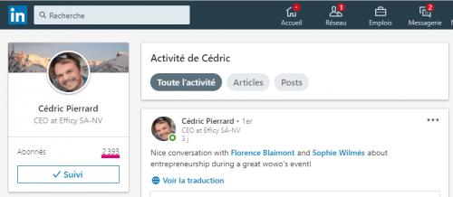 Comment connaitre le nombre exact de contacts d'un profil Linkedin ? 8