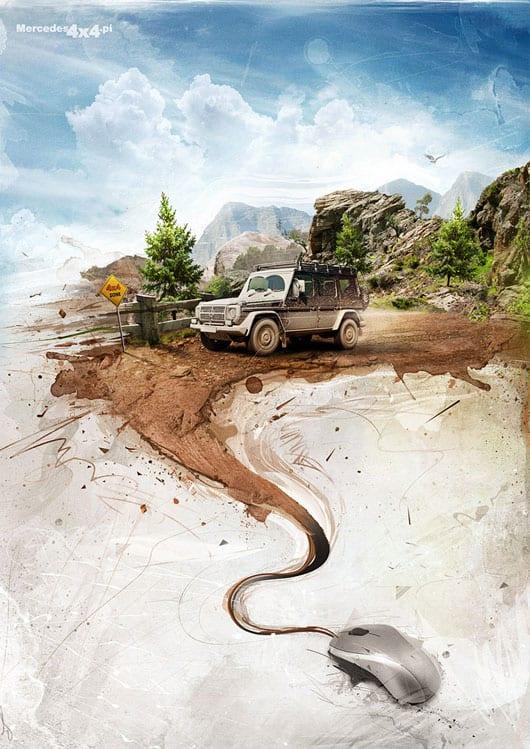 Mercedes-by-m4gik