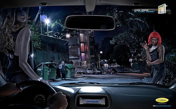 Les publicités les plus créatives pour des GPS ! 56
