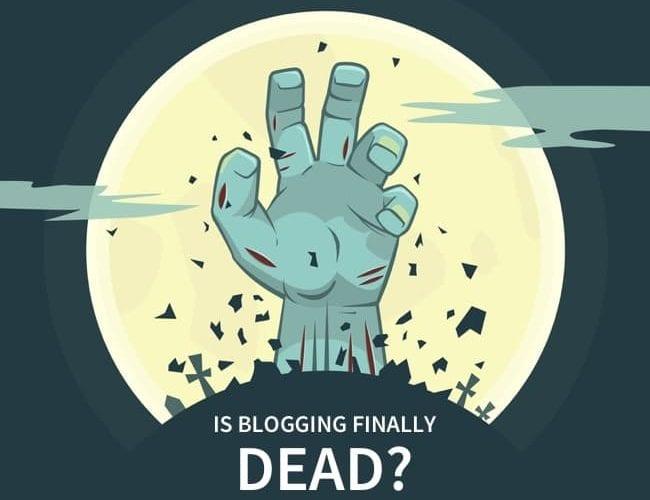 Les Blogs sont ils enfin morts ? Que devez vous utiliser pour les remplacer ? 3