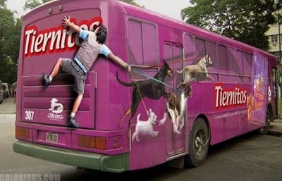 best and creative bus ads