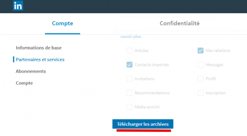 Tutoriel Mailchimp : Comment exporter ses contacts de Linkedin vers Mailchimp ! 10