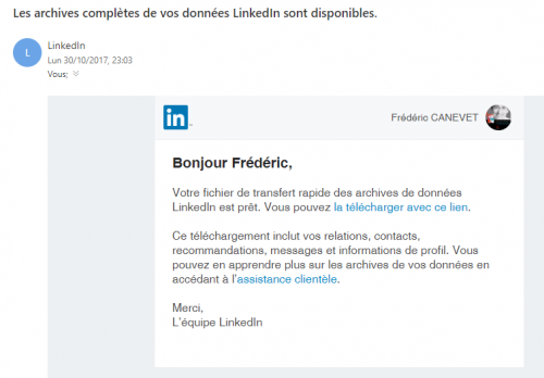 Tutoriel Mailchimp : Comment exporter ses contacts de Linkedin vers Mailchimp ! 9